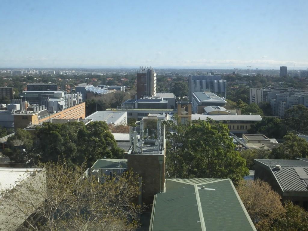 Der Campus von oben