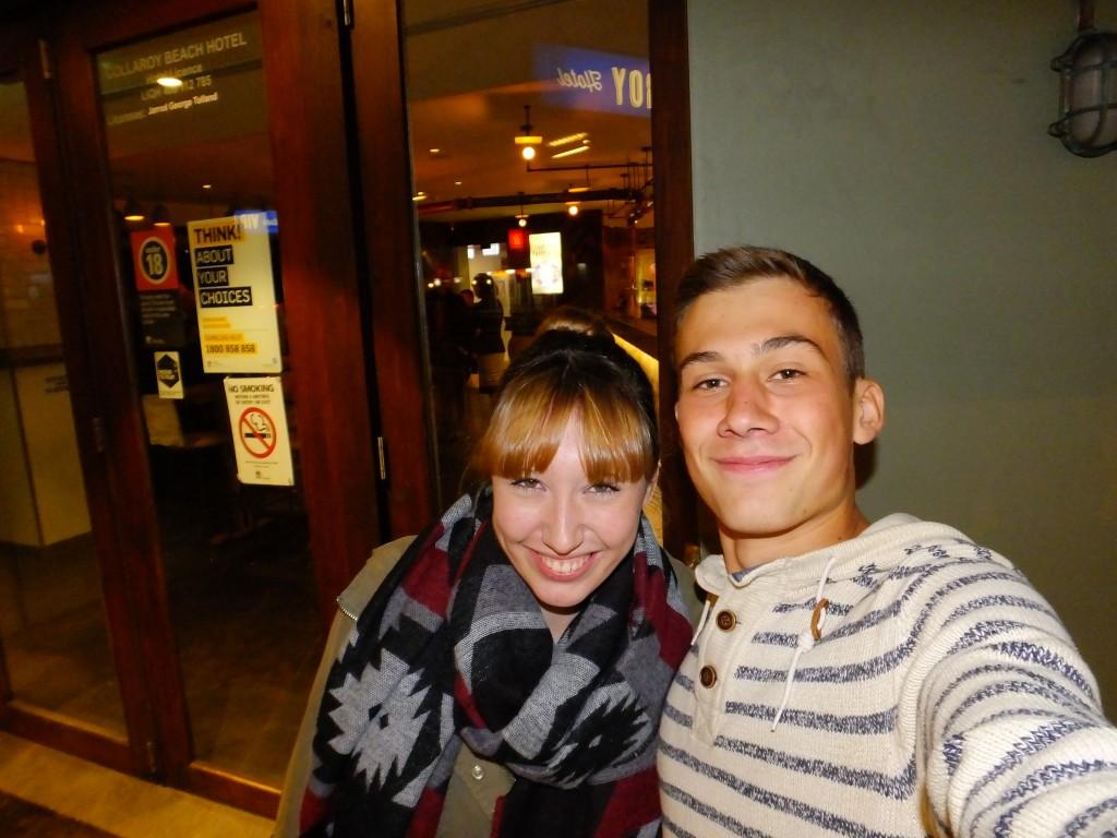 Apropos FreundInnen: habe mich heute eeendlich mal wieder mit Carla getroffen, einer guten Freundin aus meinem allerersten Hostel :)